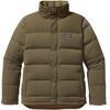 Patagonia M's Bivy Down Jacket Fatigue Green w/Bear Brown